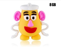 Cute Mrs. Potato Head Shaped 8GB U-Disk