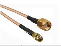 2pcs/lot 30cm RP-SMA Male (Jack Pin) to MCX Female Jack Pigtail Cable RG316 RF Jumper Cable