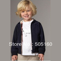 Quality double-sided black hat boys long-sleeved sweater coat 2013XRD3474