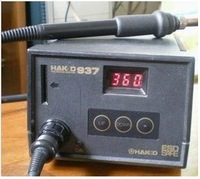 Free shipping 220V  Antistatic control temperature soldering station HAKKO 937 Constant temperature welding machine