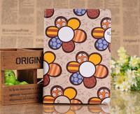 Brand Designer Korea Cute Sunflower Flip Ultra Slim Stand Leather Book Case Smart Cover For Apple Ipad Mini 2 3 4 5 Air Pouch