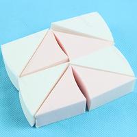 1Pack 8Pcs Beauty Lady Make Up Cosmetic Triangle Shape Sponge Powder Facial Puff Free Shipping