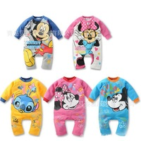 Free shipping 2013 children's clothing baby romper newborn body suit romper soft cotton Baby girls boys Kids Rompers A252
