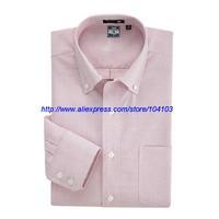 Plus Size Fashion Men Blouse Work Shirt Business Men's Slim Fit Shirts Cotton High Quality Long Sleeve Shirt XS-XXXL US15