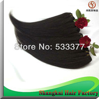 Grade AAAAA Peruvian hair extension for weaving  black nature black color hair weaves 50g 4pcs/lot