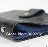 Free shipping Cowhide male commercial genuine leather business card book card stock card holder women's fashion
