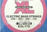 2pcs/lot d' electric bass strings exl170 set string EXL 170  Electric bass strings patrizia