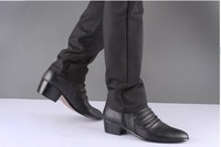Primary source han edition Martin pointed fashion British lower canister leather boots