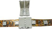 LED RGB Strip Connector, Solderless RGB Connector, RGB Strip Connector