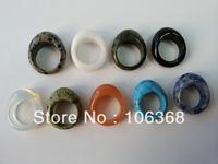 agate turquoise Adventure opal  38mm external diameter bezel setting 925 silver engagement  wedding ring jewellery