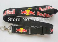Hot 10pcs black  Logo Lanyard/ MP3/4 cell phone/ key chains  /Neck Strap Lanyard WHOLESALE Free shipping