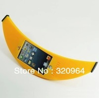 2014 new HOT SELL stylish fruit big banana outside shape ; Mobile phone case cover protector for iPhone 5/5s 5C Free Shipping