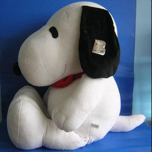 plsuh toys snoopy plush toys big size dog soft stuffed plush toys factory supply freeshipping(China (Mainland))