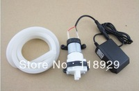 Aquarium 12V R385 Laptop DC diaphragm pump pumps water fish tank small micropump,1.5-2L/Min,+12V1A power+7 * 10MM silicone tube