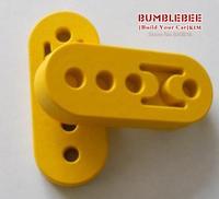 Exhaust PU, plastic car muffler exhaust pipe lug pad -(yellow) KK290
