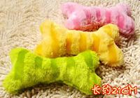 Small bone plush sound toys pet toy plush toy sound toys