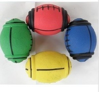 Rubber spherical toy odontoprisis toys rugby - pet toy dog toys cat toy