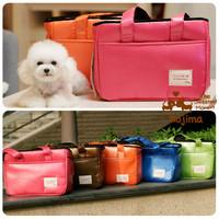 Kojima new arrival multicolour backpack pet dog backpack