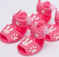 Rabbit pet sandals pet shoes dog sandals dog shoes