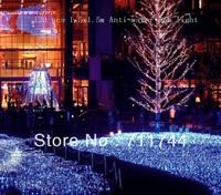 Free shipping/9 Color 120pcs 1.5x 1.5m LED anti-water web Lights with 8 Lighting Mode for Wedding Christmas Decoration EU Plug