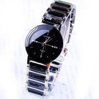 Quality women's exquisite commercial watches quartz clock  ceramic watch