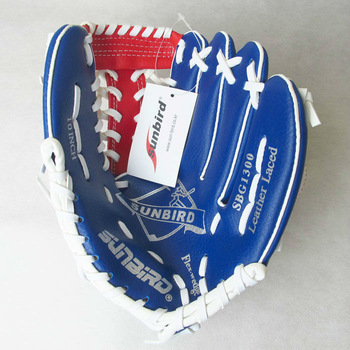 "New Right-Handed Thrower 10"" Kid/Youth Leather Laced Baseball Glove SBG1300"