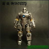 """Iron Man Avengers Resin Action Figure 3"""" Original armored Action Figure Doll FREE SHIPPING"""