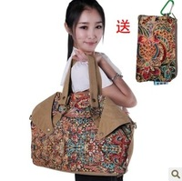 Fabric bags national 2013 trend bags cloth one shoulder portable cloth female small fresh vintage print bag