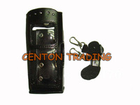 Leather Case for For Motorola MTP850 two way radio Walkie talkie