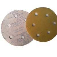 Scrub 3m dry paper 6inch Sanding paper circle sandpaper 3m236u sandpaper 50pcs