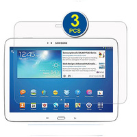 3-Pack Premium HD Crystal Clear LCD Screen Protector for Samsung Galaxy Tab 3 10.1 - 10.1'' Tablet GT-P5200 / GT-P5210