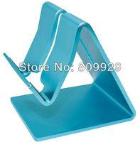 100pcs/lots Universal Aluminium Metal Desk Stand Holder for Mobile Phone Smartphone Tablet PC Ebook Mobile Mate Portable