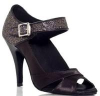 free shipping Latin satin dance shoes dance shoes