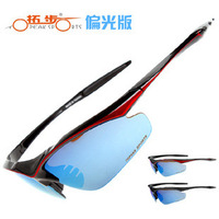 2 colors frame Black,Black Red bicycle glasses polarized 5 lens bicycle glasses cycling polarized glasses bike goggles