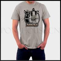 DIY Style MOVIE Star Wars DARTH LEBOWSKI T-shirt cotton Lycra top 6567 Fashion Brand t shirt men new DIY high quality