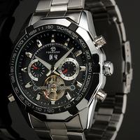2013 Brand New Toubillon Men Luxury Automaic Mechanical Men's Watch Wrist Watch for Gift
