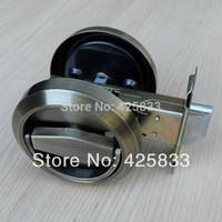 Bronze Stainless Steel 304 Recessed Cup Handle Privacy Sliding Door Locks House Lock Door Handle with Lock