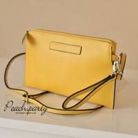 Free shipping Spring and summer cowhide vintage envelope bag messenger bag day clutch dinner party clutch bag shoulder bag