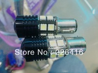 Free shipping ,2 Extreme Bright 1156 7506 P21W R5 CREE +12LED Projector SMD Bulbs Back