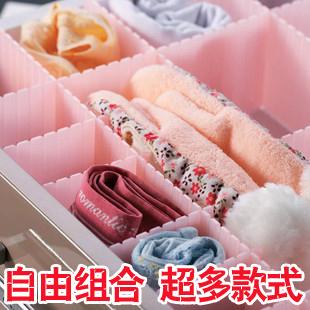 Caixa de acabamento de mesa gaveta diaphragn cueca armazenamento cosméticos diy plástico(China (Mainland))