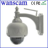1.0 Megapixel HD PTZ Pan/Tilt Zoom H.264 IR Cut MP Wireless WiFi Varifocal Lens Outdoor Security Network Internet IP Camera P2P