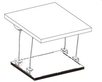 Suspend accessory for LED Panel light Suspend installation