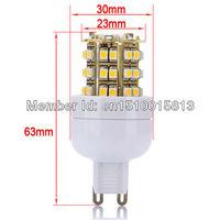 Free Shipping G9 SMD 3528 48 LED 200-240V LED Spot home Light  Bulb Lamp  white Warm White 10pcs/Lot