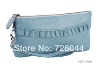 Hot-selling Ladies' Day Clutches Genuine Leather Mini Bag Fashion Style 6 Colors High Quality