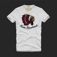 Free shipping 2013 New brand designer Men's T Shirt+slim fit Men's Short Sleeve T Shirt cotton men t shirt+free shipping ,S-XL