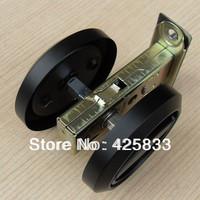 Hot Sale Black Stainless Steel 304 Recessed Cup Handle Privacy Sliding and Hidden Door Locks Door Handle with Lock