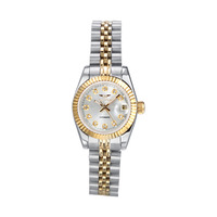 Guanqin Ladies Classic Fashion Official Business Automatic Mechanical Watch Women's Inner Gold Cutout Table Sapphire Mirror