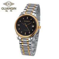 Classic fashion violin automatic mechanical watch casual watch commercial men's watch fashion table rhinestone table