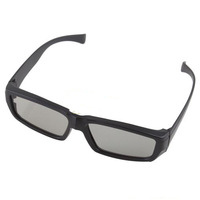 New Circular Polarized Passive 3D Glasses For DVD Movie Game+free shipping