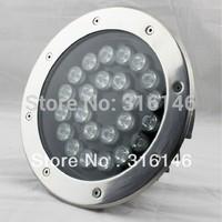 stainless steel waterproof IP67 24V RGB 24x1w 24W led underground lamp led deck light recessed led deck lighting kits